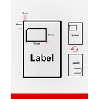Invoice Address Labels Integrated A4 Sheets Self Adhesive Paper Sticky Prints