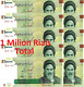 Lot Iran, 10x  100000 (100,000 Rials  UNCIRCULATED 1 Milllion Rial Currency UNC