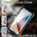 For Samsung Note 8 R-just Metal Aluminum Armor Silicone Rubber Back Case Cover