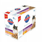 Hill's Science Plan Feline Senior Healthy Ageing 11+ MultiPack Chicken + Salmon