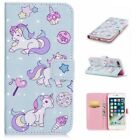 3D Hybrid Printed Patterned Flip PU Leather Card Pocket Case Cover For Phone XS2