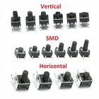 micro buttons - Momentary Tactile Push Button Switch Vertical/SMD/Horizontal Mini Micro PCB