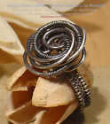 UNIQUE SOLID SPIRAL 925 SILVER RING - All Sizes