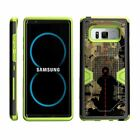 For Samsung Galaxy Note 8 N950 Hybrid Holster Belt Clip Case Stand Armor Green