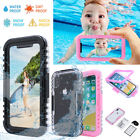 For Apple iPhone X Waterproof Snow Dirt Shockproof Rubber Full Body Case Cover