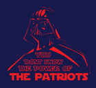Darth Vader New England Patriots Power shirt Star Wars Tom Brady GOAT Gronk NE $20.0 USD on eBay