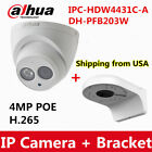 mp in camera - Dahua IPC-HDW4433C-A 4MP POE Security Dome IP Camera Build-in MIC IR 50M H.265