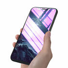 9H Anti Blue Ray Tempered Glass Full Screen Protective Film for iPhone X Black