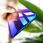 For iPhone X/XS Aurora Gradient Colorful Clear Ultra Thin Hard PC Case Cover