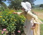 Modest Quality Historical Costume Colonial ~Gold Day Dress~ Child Size 4 to 14