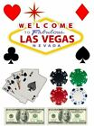 Las Vegas Casino Edible Print Decor for Themed Cake Icing or Wafer
