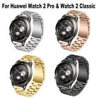 New Stainless Steel Strap Buckle Bracelet Watch Bands for Huawei Watch 2 Classic