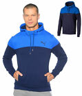 Brand New Puma Alpha Block Hoody FL XL, XXL - Grey/Red, Blue/Navy, LtGrey/DkGrey