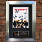 IRON MAIDEN Signed Autograph Mounted Photo Reproduction A4 Print 542