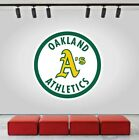 Oakland Athletics Logo Wall Decal MLB Sports Vinyl Design Home Decor CG078 on Ebay
