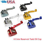 CNC Fluid Reservoir Tank Oil Cup + Bracket Universal Motorcycle Brake Clutch USA $11.65 USD on eBay