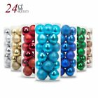 3cm Big Christmas Tree Large Ball Decoration Baubles Party Wedding Hang Ornament