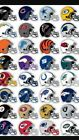 NFL TEAM HELMET STICKER,PICK YOUR FAVORITE FOOTBALL TEAM, 32 TEAMS $0.99 USD on eBay