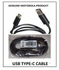 Genuine Motorola USB Type-C Turbo Charge Data Cable for Motorola Z Series Phones