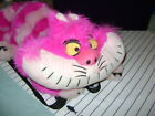 "Authentic Disney Alice In Wonderland Cheshire Cat 23"" Plush BACK PACK VERY Rare"