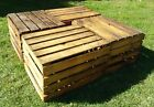 2,3,4,6,8,12,18,24 Strong Vintage Wooden Crates Fruit Apple Boxes Home Decor