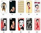 New Designs Betty Boop Case for iPhone 4 5G 5C 6 7 8 X Galaxy S3 S4 S5 S6 S7 S8 $9.99 USD