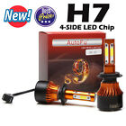 2x 4-Side LED Headlight 980W 98000LM Bulb Kit 9006 9005 H4/HB2/9003 H7 H8/H9/H11 <br/> Hot Sale ▲ Local Stock SHIP▲Top Quality▲2 years Warrant
