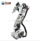 6DOF Mechanical Robotic Arm Clamp Claw Mount  Aluminium Robot Kit Set ForArduino
