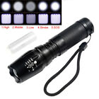 15000Lumens XML T6 LED 5Modes X800 G700 Tactical Flashlight Torch Zoomable
