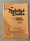 Selected Duets Volume 2 - CHOOSE Clarinet, Trumpet, Saxophone Available