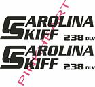 carolina+238+DLV+skiff+Boat+Decals+Graphics+Sticker+Decal+Stickers++USA