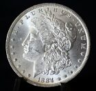 ** 1884 O MORGAN SILVERDOLLAR  **  BLAST WHITE ** GREAT LUSTER **