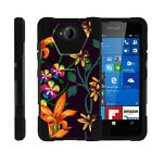For Microsoft Lumia 650 Dual Layer Hybrid Kickstand Fitted Case