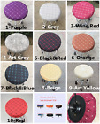 "Внешний вид - 1Pc 14"" Bar Stool Covers Round Chair Seat Cover Cushions Sleeve 10 Color Dental"