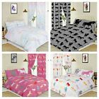 KIDS GIRLS BOYS BEDROOM BEDDING DUVET QUILT COVER HORSES UNICORN SPACE DINOSAURS