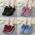 2018 Womens Lace up Casual Sneaker Trainer Running Sports Walking Lace Ups shoes