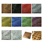 3D Bevel Seamless Crystal Glass Mosaic Tile Background Bathroom Art Wall Tiles