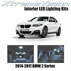 XtremeVision LED for BMW 2 Series 2014-2017 (12 Pieces) Cool White Premium Inter