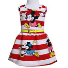 Toddler Kid Baby Girl Disney Character Clothes Cartoon Skirt Summer Outfit Dress