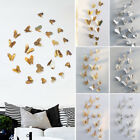 3D Hollow Butterfly Home Decor Art Wall Stickers Decal Bedroom Living Room Mural