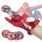 Kids Spiderman Iron Man Batman Launcher Gloves Children Action Figure Boys Toys