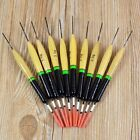 10 Pcs Durable 2g Fishing Floats Bobbers Paulownia Wood Fishing Tackle Tools