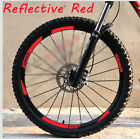 Mountain Bike Bicycle Wheels Rim Stickers for MTB SRAM DH Race Cycling Decals