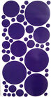 POLKA-DOTS ASSORTED SIZES  Vinyl / Decal   U pick Color(s)