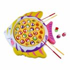 Fishing Game Electronic Rotating Fish Board Game Party Favors Educational Fishin