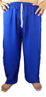 Unisex Pants Solid Color House Wear Holiday Beach Christmas Gift, Waist 22-40""