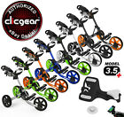 New Clicgear 3.5+ Golf Push Cart - Pick Your Color + Pick Your Free Accessory