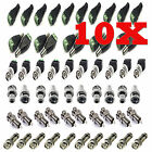 10X CAT5 UTP TO COAXIAL CAMERA CCTV TV POWER VIDEO BALUN BNC CABLE CONNECTORS