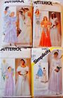 Vintage Wedding Gown Dress Veil Slip Sew Pattern ~ U PICK  Uncut Simplicy McCall