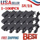 LOT Universal IC Power Adapter AC Charger 5V 2A 2.5mm US ...